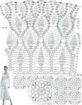 Превью ажурное платье СЃ СЋР±РєРѕР№ ананас 2 (547x700, 376Kb)
