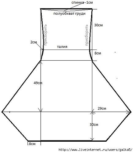 Выкройки бохо для начинающих простые выкройки
