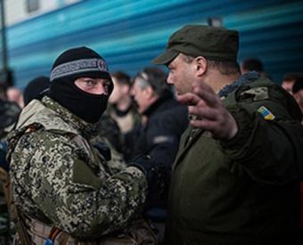 Донецк - правосеки взяли в заложники Красный крест (340x275, 37Kb)