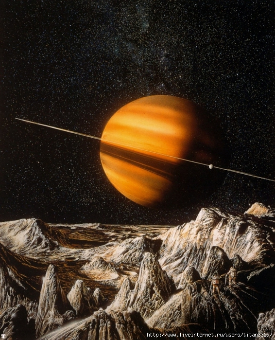 Сатурн со спутника 2 (566x700, 377Kb)