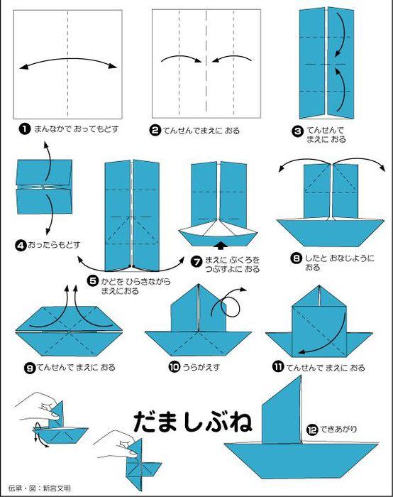 для кораблика из бумаги.