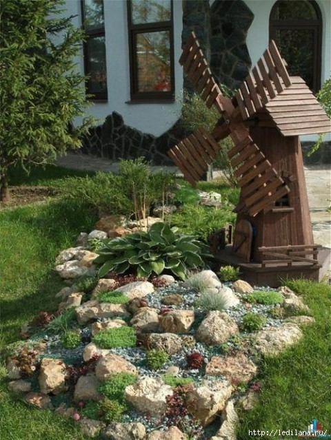 Поделки из камыша для сада