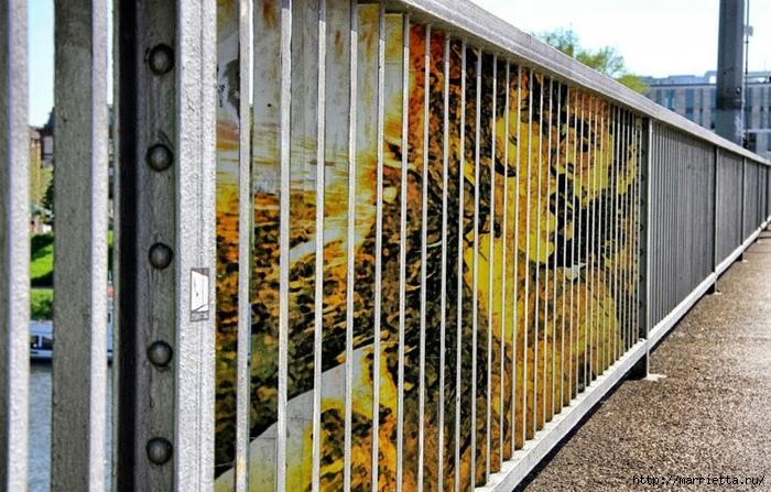 Граффити и Street Art. Самые красивые лестницы и ограды (23) (700x447, 310Kb)