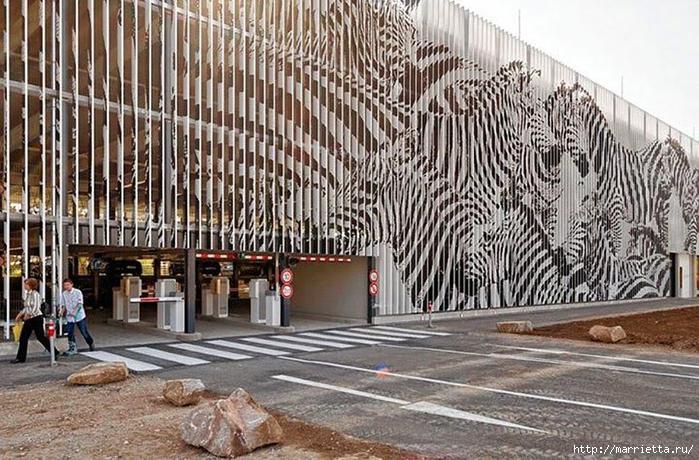 Граффити и Street Art. Самые красивые лестницы и ограды (31) (700x460, 333Kb)
