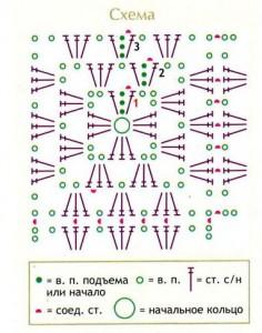 shema-vyazaniya-motiva-babushkin-kvadrat-kruchkom-236x300 (236x300, 27Kb)