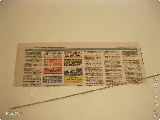 Газетные плетенки с вышивкой лентами. Мастер-класс (1) (520x390, 98Kb)