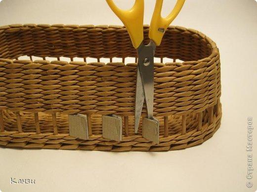 Газетные плетенки с вышивкой лентами. Мастер-класс (10) (520x390, 163Kb)