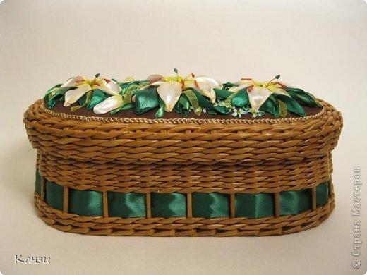 Газетные плетенки с вышивкой лентами. Мастер-класс (28) (520x390, 150Kb)