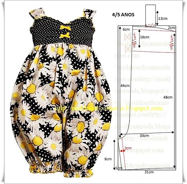 【转载】布艺纸样:幼儿连衣裙 - 丁香花开的日志 - 网易博客 - 804632173 - 804632173的博客