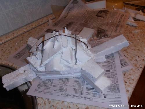 Скульптура из пенопласта мастер класс - УО РМД