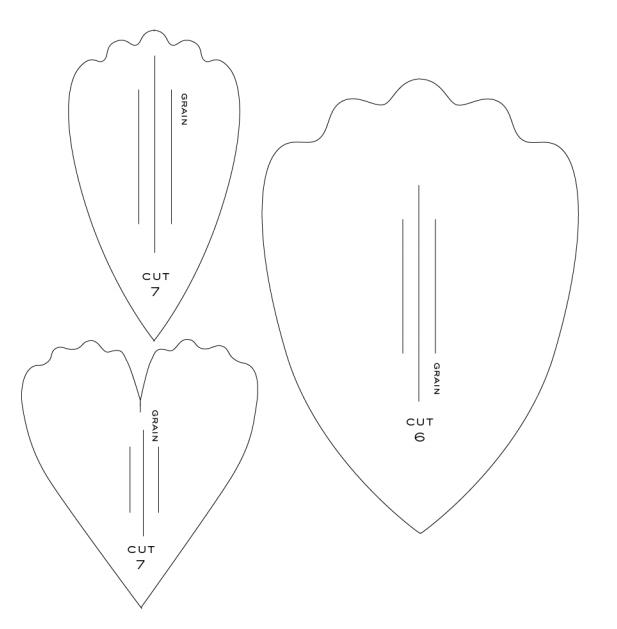 Piones de papel crepé.  Plantillas y maestro de clase (6) (617x629, 34Kb)