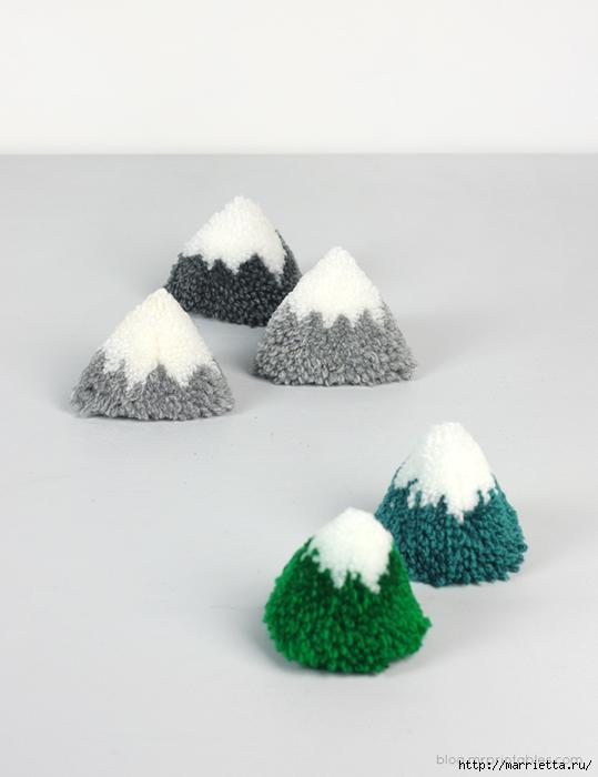 игрушки из помпонов (12) (539x700, 181Kb)