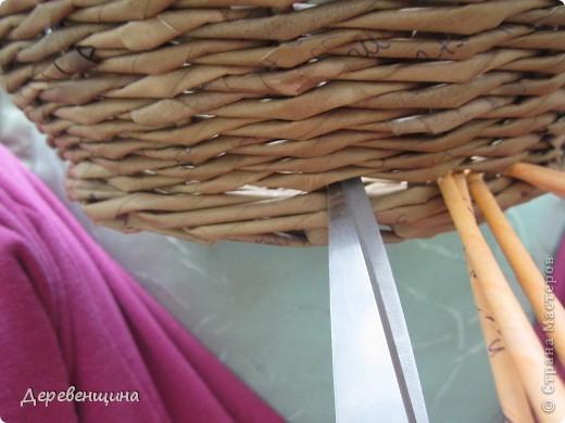 Плетение из газет. ГОРШОЧКИ С КОСИЧКАМИ. Мастер-класс (13) (520x390, 163Kb)