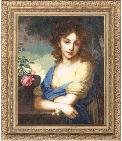 МК-001 Портрет Нарышкиной (400x461, 178Kb)