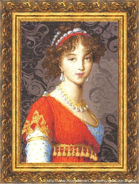 МК-005 Великая княгиня Елизавета Алексеевна (452x600, 225Kb)