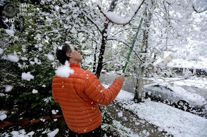 весенний снегопад фото 1 (700x463, 466Kb)