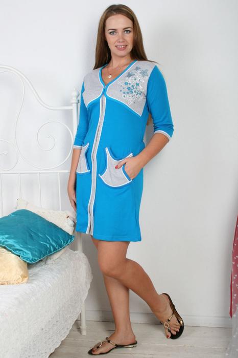 Модные трикотажные халаты (11) (466x700, 242Kb)
