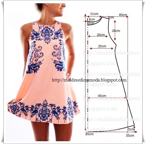 модные летние платьев выкройки