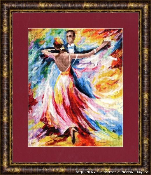 ЧМ-021 Танец любви (518x600, 340Kb)