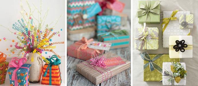Подарок на день рождения своими руками из картона и бумаги