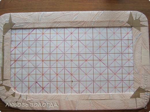 Плетение из газет. Мастер-класс на крышку с цветным узором из трубочек (6) (520x390, 215Kb)