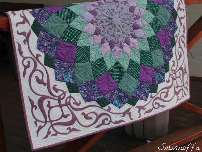 Окантовка лоскутного панно и одеяла. Фото мастер-класс (11) (700x527, 658Kb)