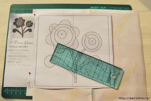 Лоскутная аппликация. Подробный фото мастер-класс (8) (591x396, 153Kb)