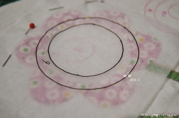 Лоскутная аппликация. Подробный фото мастер-класс (36) (591x391, 92Kb)