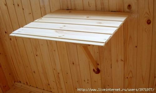 Как сделать столик для балкона своими руками
