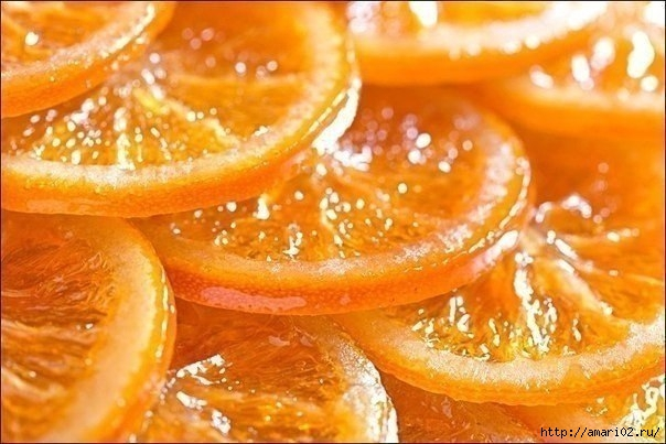 Карамелизированный апельсиновый десерт