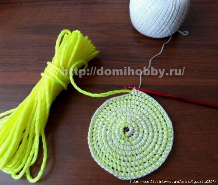 Как вязать коврики из веревок