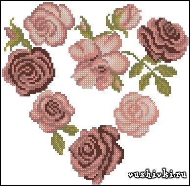 1326798828_dmc-naturals-hearts-heart-of-roses (388x380, 141Kb)