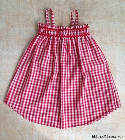 Платье для девочки нарядное 2 года с выкройками фото 199
