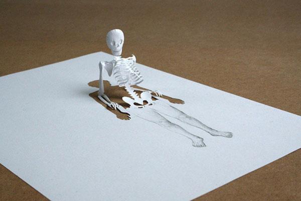 скульптуры из бумаги Питера Каллесена 11 (600x400, 111Kb)