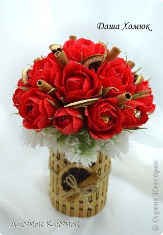 Свит-дизайн. Розы из гофрированной бумаги (18) (333x480, 129Kb)