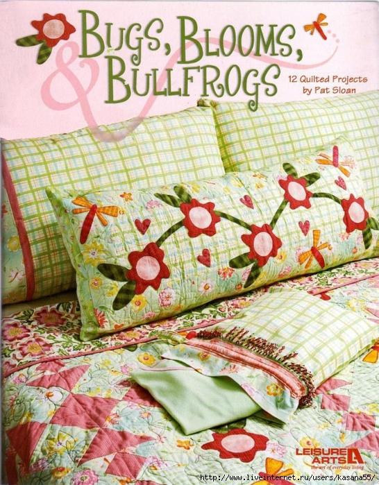 Bugs, Blooms & Bullfrogs (546x700, 402Kb)