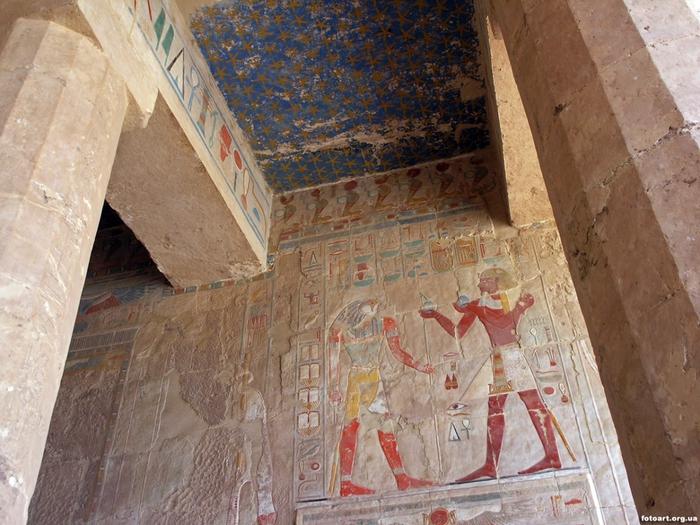 Храм царицы Хатшесуп египет фото 9 (700x525, 322Kb)