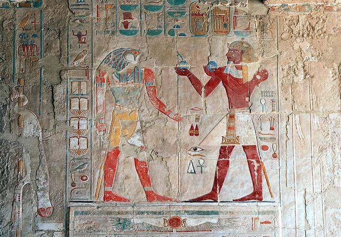 Храм царицы Хатшесуп египет фото 11 (700x487, 375Kb)