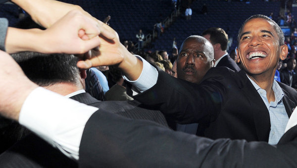 barack obamas final campaign rally essay