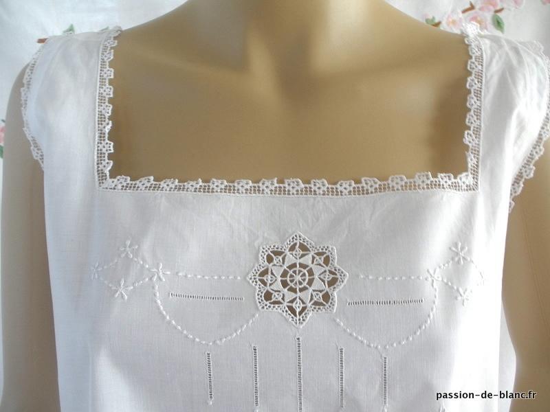 Вышивка ночной сорочки 60