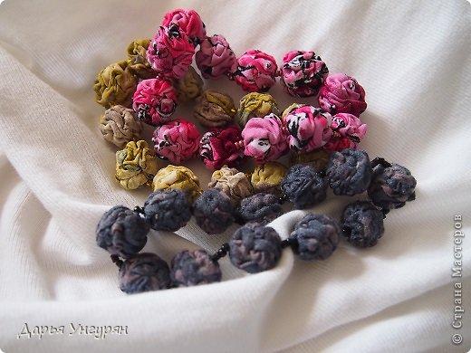 Текстильные бусы и браслеты. Мастер-класс (1) (520x390, 177Kb)