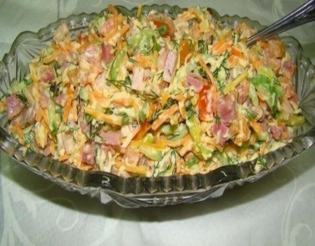 рецепт салата венеция с корейской морковью