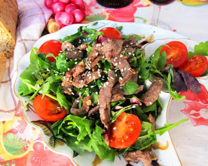 Салат из мяса с отзывами