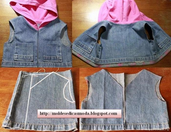 Сшить платье своими руками из старых джинсов своими руками 14