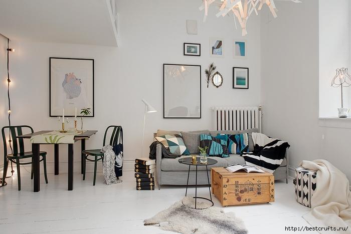 Идея планировки уютной квартиры (2) (700x467, 207Kb)