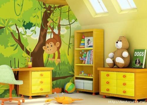 Оформление детской комнаты - полезные советы (499x358, 98Kb)