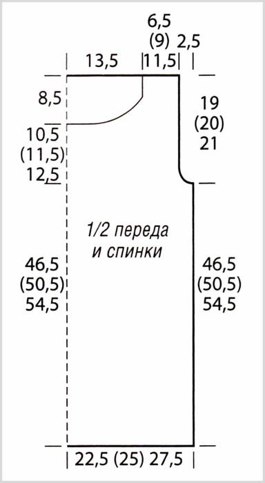 pulover-krjuchkom-s-letnim-sharfom-vykrojka (384x700, 84Kb)