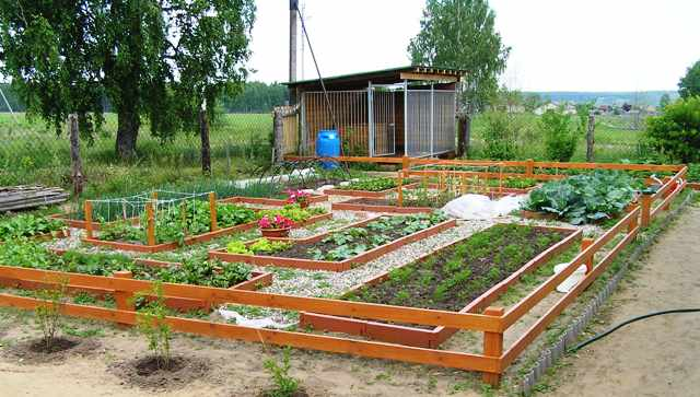 Огород своими руками работа