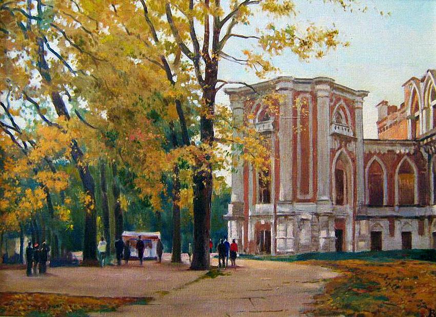 осень в изобразительном искусстве: