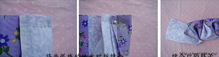 Японская сумочка ОРИГАМИ. Фото мк (5) (700x184, 99Kb)